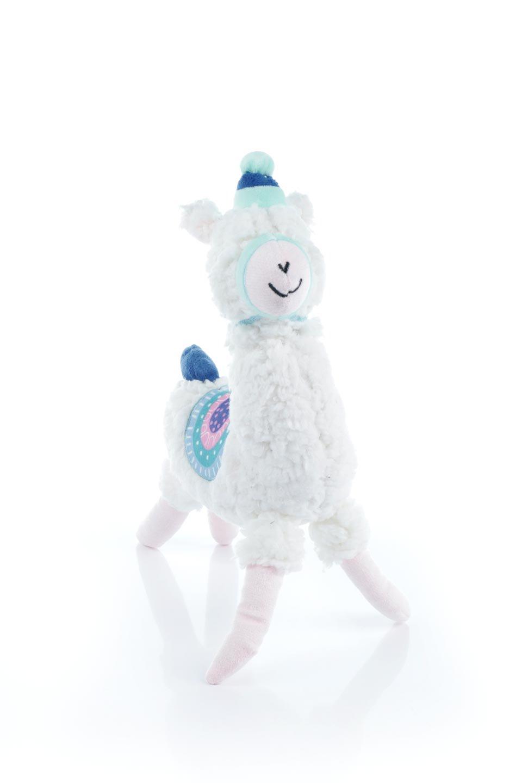 PlushAlpacaDogToy白いアルパカ・犬用オモチャ大人カジュアルに最適な海外ファッションのothers(その他インポートアイテム)のドッググッズやその他。優しそうな表情が可愛いアルパカの犬用オモチャ。ワンちゃんのおもちゃ箱から首を出している姿も可愛いぬいぐるみです。/main-4
