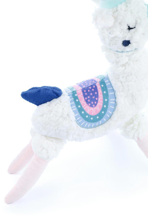 PlushAlpacaDogToy白いアルパカ・犬用オモチャ大人カジュアルに最適な海外ファッションのothers(その他インポートアイテム)のドッググッズやその他。優しそうな表情が可愛いアルパカの犬用オモチャ。ワンちゃんのおもちゃ箱から首を出している姿も可愛いぬいぐるみです。/main-9