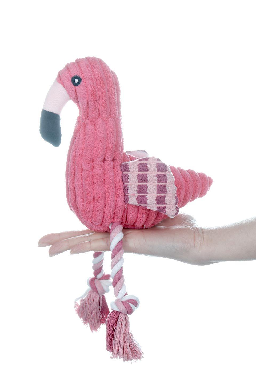 PlushFlamingoDogToyロープ足のフラミンゴ・犬用オモチャ大人カジュアルに最適な海外ファッションのothers(その他インポートアイテム)のドッググッズやその他。発色の良いピンク色でワンちゃんを引きつけるフラミンゴの犬用オモチャ。体はぬいぐるみ、足はロープ。/main-10