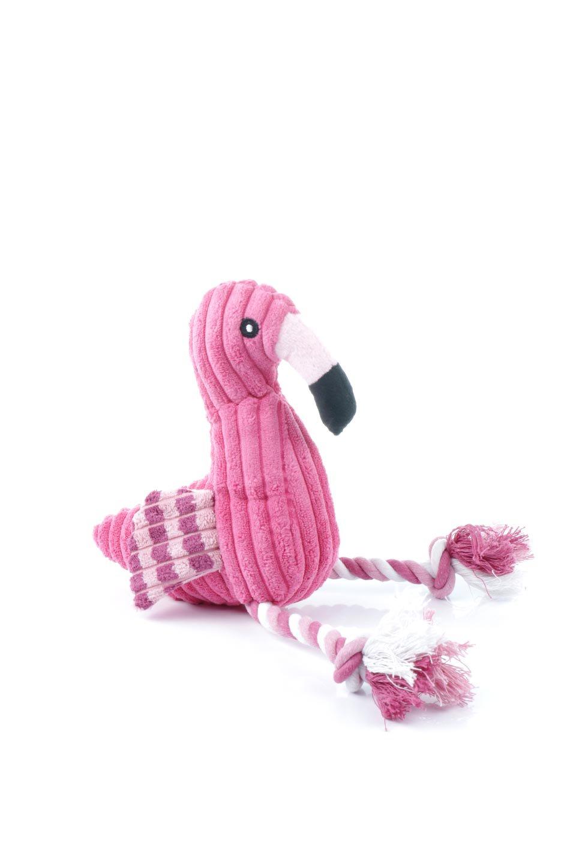 PlushFlamingoDogToyロープ足のフラミンゴ・犬用オモチャ大人カジュアルに最適な海外ファッションのothers(その他インポートアイテム)のドッググッズやその他。発色の良いピンク色でワンちゃんを引きつけるフラミンゴの犬用オモチャ。体はぬいぐるみ、足はロープ。/main-4