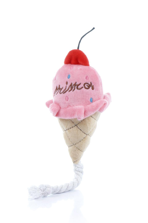 PlushIce-CreamDogToyアイスクリーム・犬用オモチャ大人カジュアルに最適な海外ファッションのothers(その他インポートアイテム)のドッググッズやその他。ワンちゃんも喜ぶアイスクリームのぬいぐるみのオモチャ。ふわふわアイスクリームの下についたコットンロープは噛み噛みすれば歯垢も取れて一石二鳥です。