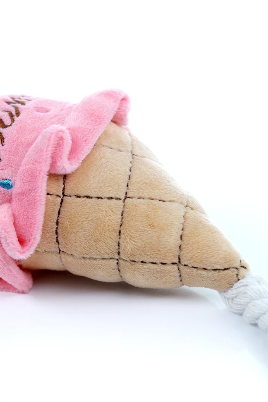 PlushIce-CreamDogToyアイスクリーム・犬用オモチャ大人カジュアルに最適な海外ファッションのothers(その他インポートアイテム)のドッググッズやその他。ワンちゃんも喜ぶアイスクリームのぬいぐるみのオモチャ。ふわふわアイスクリームの下についたコットンロープは噛み噛みすれば歯垢も取れて一石二鳥です。/main-14