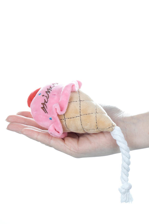 PlushIce-CreamDogToyアイスクリーム・犬用オモチャ大人カジュアルに最適な海外ファッションのothers(その他インポートアイテム)のドッググッズやその他。ワンちゃんも喜ぶアイスクリームのぬいぐるみのオモチャ。ふわふわアイスクリームの下についたコットンロープは噛み噛みすれば歯垢も取れて一石二鳥です。/main-15