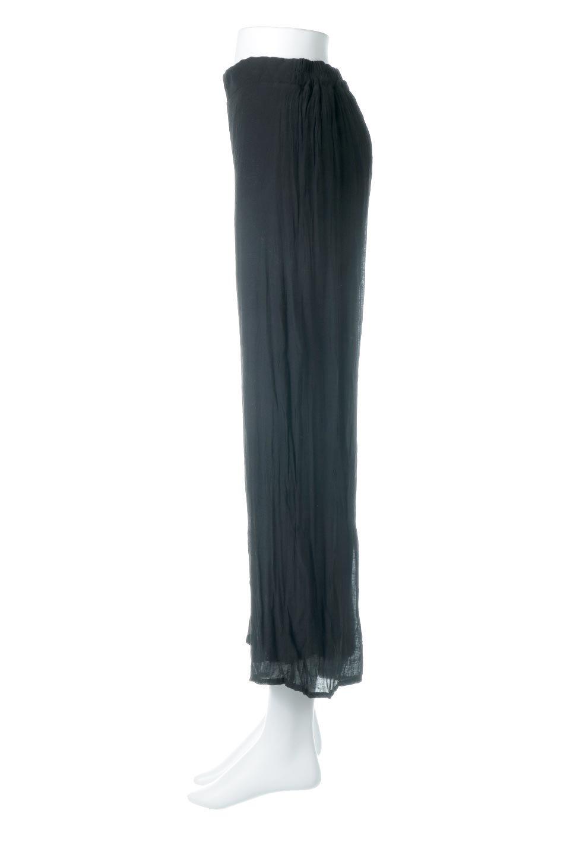 WrinklePoplinWideLegPantsワッシャーポプリン・シワ加工パンツ大人カジュアルに最適な海外ファッションのothers(その他インポートアイテム)のボトムやパンツ。ランダムなシワ加工が涼しげな印象のワイドパンツ。薄手の生地で春夏にピッタリのアイテム。/main-12