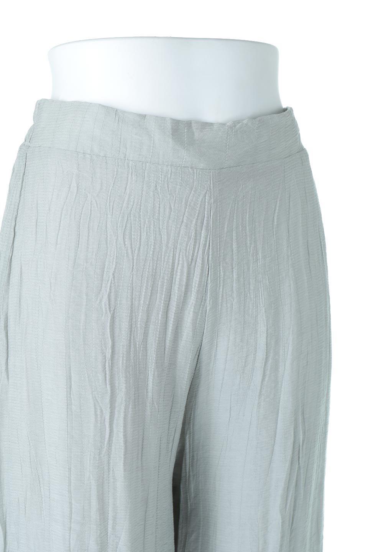 WrinklePoplinWideLegPantsワッシャーポプリン・シワ加工パンツ大人カジュアルに最適な海外ファッションのothers(その他インポートアイテム)のボトムやパンツ。ランダムなシワ加工が涼しげな印象のワイドパンツ。薄手の生地で春夏にピッタリのアイテム。/main-15