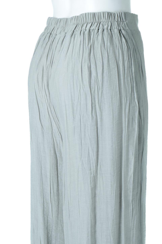 WrinklePoplinWideLegPantsワッシャーポプリン・シワ加工パンツ大人カジュアルに最適な海外ファッションのothers(その他インポートアイテム)のボトムやパンツ。ランダムなシワ加工が涼しげな印象のワイドパンツ。薄手の生地で春夏にピッタリのアイテム。/main-18