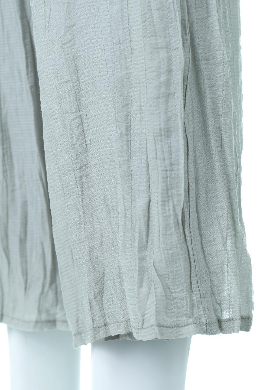 WrinklePoplinWideLegPantsワッシャーポプリン・シワ加工パンツ大人カジュアルに最適な海外ファッションのothers(その他インポートアイテム)のボトムやパンツ。ランダムなシワ加工が涼しげな印象のワイドパンツ。薄手の生地で春夏にピッタリのアイテム。/main-21