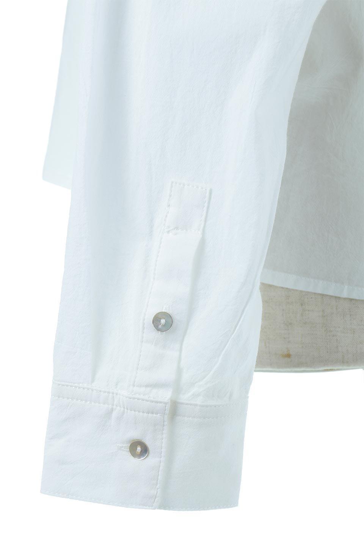 L.A.直輸入のButtonUpCottonShirtsルーズシルエット・ボタンシャツ大人カジュアルに最適な海外ファッションのothers(その他インポートアイテム)のトップスやシャツ・ブラウス。ナチュラルなシアーコットンのショート丈ルーズシャツ。ボタンを空けてラフに着ても、ボタンを留めてキッチリ着ても綺麗なラインが出るシャツです。/main-10