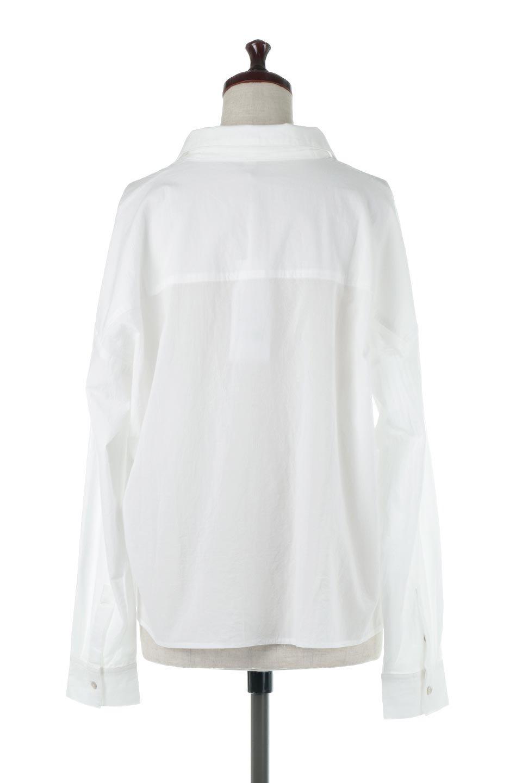 L.A.直輸入のButtonUpCottonShirtsルーズシルエット・ボタンシャツ大人カジュアルに最適な海外ファッションのothers(その他インポートアイテム)のトップスやシャツ・ブラウス。ナチュラルなシアーコットンのショート丈ルーズシャツ。ボタンを空けてラフに着ても、ボタンを留めてキッチリ着ても綺麗なラインが出るシャツです。/main-4