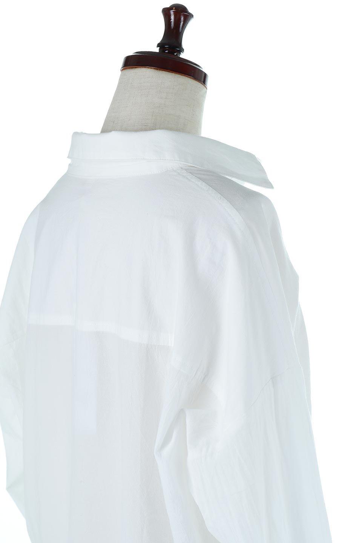 L.A.直輸入のButtonUpCottonShirtsルーズシルエット・ボタンシャツ大人カジュアルに最適な海外ファッションのothers(その他インポートアイテム)のトップスやシャツ・ブラウス。ナチュラルなシアーコットンのショート丈ルーズシャツ。ボタンを空けてラフに着ても、ボタンを留めてキッチリ着ても綺麗なラインが出るシャツです。/main-6