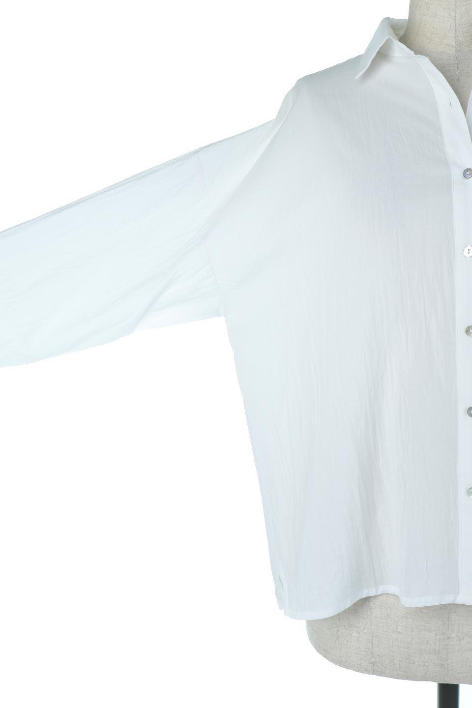 L.A.直輸入のButtonUpCottonShirtsルーズシルエット・ボタンシャツ大人カジュアルに最適な海外ファッションのothers(その他インポートアイテム)のトップスやシャツ・ブラウス。ナチュラルなシアーコットンのショート丈ルーズシャツ。ボタンを空けてラフに着ても、ボタンを留めてキッチリ着ても綺麗なラインが出るシャツです。/main-7