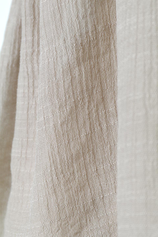 FrenchSleeveGatheredBlouseフレンチスリーブ・ギャザーブラウス大人カジュアルに最適な海外ファッションのothers(その他インポートアイテム)のトップスやシャツ・ブラウス。サラリとした肌触りが心地よいフレンチスリーブのブラウス。シワが気にならないスラブガーゼを使用したアイテムです。/main-21