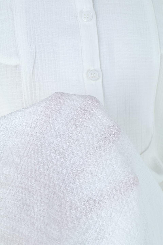 SideTiedBosomBlouseブザムデザイン・サイドリボンブラウス大人カジュアルに最適な海外ファッションのothers(その他インポートアイテム)のトップスやシャツ・ブラウス。サラテロ素材で肌触り抜群のブザムデザインのブラウス。サイドに大胆に入ったスリットには2か所のリボンで可愛さアップ。/main-17