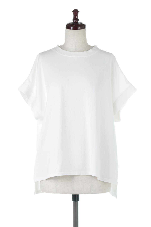SquareStyleWashedTeeビンテージ風・フレンチスリーブTシャツ大人カジュアルに最適な海外ファッションのothers(その他インポートアイテム)のトップスやTシャツ。ビンテージ風のピグメント加工がポイントのビッグTee。フレンチスリーブで肩から腕のラインをキレイに見せてくれます。