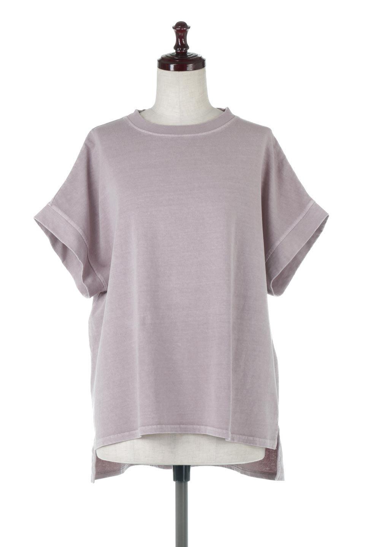 SquareStyleWashedTeeビンテージ風・フレンチスリーブTシャツ大人カジュアルに最適な海外ファッションのothers(その他インポートアイテム)のトップスやTシャツ。ビンテージ風のピグメント加工がポイントのビッグTee。フレンチスリーブで肩から腕のラインをキレイに見せてくれます。/main-20