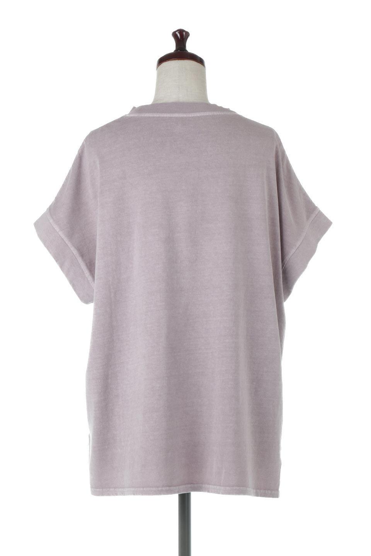 SquareStyleWashedTeeビンテージ風・フレンチスリーブTシャツ大人カジュアルに最適な海外ファッションのothers(その他インポートアイテム)のトップスやTシャツ。ビンテージ風のピグメント加工がポイントのビッグTee。フレンチスリーブで肩から腕のラインをキレイに見せてくれます。/main-24