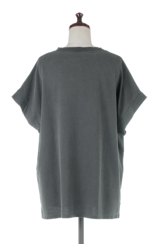 SquareStyleWashedTeeビンテージ風・フレンチスリーブTシャツ大人カジュアルに最適な海外ファッションのothers(その他インポートアイテム)のトップスやTシャツ。ビンテージ風のピグメント加工がポイントのビッグTee。フレンチスリーブで肩から腕のラインをキレイに見せてくれます。/main-29
