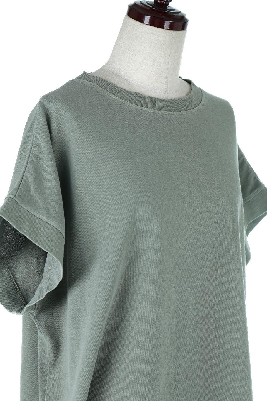 SquareStyleWashedTeeビンテージ風・フレンチスリーブTシャツ大人カジュアルに最適な海外ファッションのothers(その他インポートアイテム)のトップスやTシャツ。ビンテージ風のピグメント加工がポイントのビッグTee。フレンチスリーブで肩から腕のラインをキレイに見せてくれます。/main-30