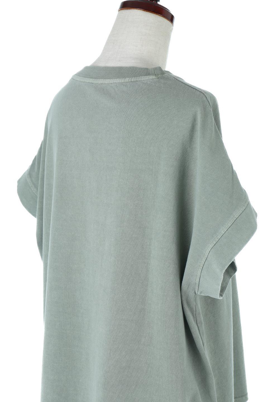 SquareStyleWashedTeeビンテージ風・フレンチスリーブTシャツ大人カジュアルに最適な海外ファッションのothers(その他インポートアイテム)のトップスやTシャツ。ビンテージ風のピグメント加工がポイントのビッグTee。フレンチスリーブで肩から腕のラインをキレイに見せてくれます。/main-31