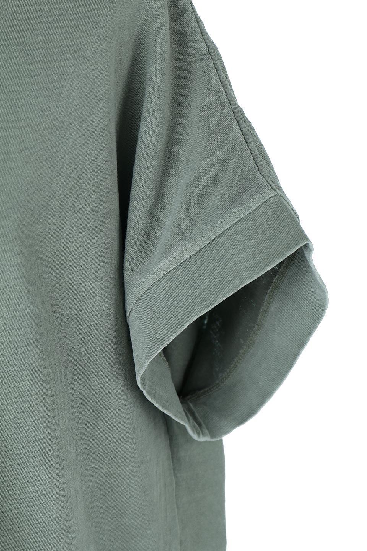 SquareStyleWashedTeeビンテージ風・フレンチスリーブTシャツ大人カジュアルに最適な海外ファッションのothers(その他インポートアイテム)のトップスやTシャツ。ビンテージ風のピグメント加工がポイントのビッグTee。フレンチスリーブで肩から腕のラインをキレイに見せてくれます。/main-33