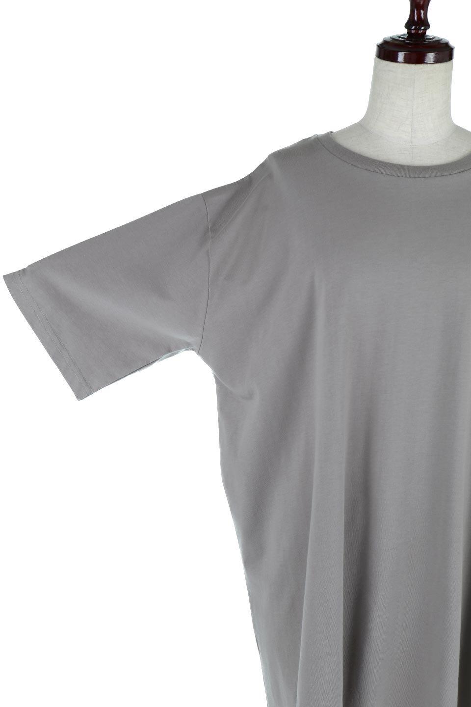 BackSlitLongTailTopバックスリット・ロングTシャツ大人カジュアルに最適な海外ファッションのothers(その他インポートアイテム)のトップスやカットソー。バックスタイルがポイントのビッグシルエットTシャツ。フロントはクルーネックのシンプルでリラックス感のあるTシャツに見えますが、背中はスリットが入ったラップデザイン。/main-23