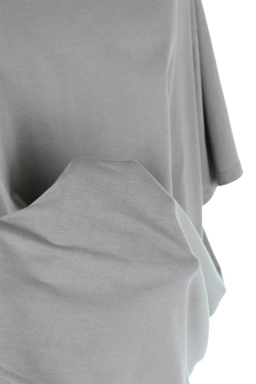 BackSlitLongTailTopバックスリット・ロングTシャツ大人カジュアルに最適な海外ファッションのothers(その他インポートアイテム)のトップスやカットソー。バックスタイルがポイントのビッグシルエットTシャツ。フロントはクルーネックのシンプルでリラックス感のあるTシャツに見えますが、背中はスリットが入ったラップデザイン。/main-26