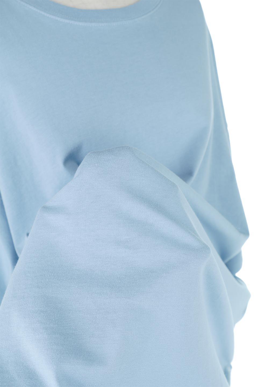 RoundHemBigSilhouetteTeeビッグシルエット・ラウンドTシャツ大人カジュアルに最適な海外ファッションのothers(その他インポートアイテム)のトップスやカットソー。ボディラインと裾に丸みを持たせたデザインのロングTシャツ。ドロップショルダーでルーズでリラックス感あふれるシルエットを作ります。/main-21