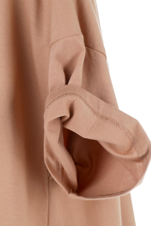 AsymmetricalHemBigTeeアシメントリー・ビッグシルエットTシャツ大人カジュアルに最適な海外ファッションのothers(その他インポートアイテム)のトップスやカットソー。斜めにカットされたアシメントリーの裾がポイントのビッグTee。ゆったりとしたリラックス感のあるシルエットで、ややAラインのシルエットが可愛いアイテム。/main-20