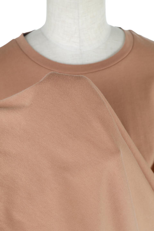 AsymmetricalHemBigTeeアシメントリー・ビッグシルエットTシャツ大人カジュアルに最適な海外ファッションのothers(その他インポートアイテム)のトップスやカットソー。斜めにカットされたアシメントリーの裾がポイントのビッグTee。ゆったりとしたリラックス感のあるシルエットで、ややAラインのシルエットが可愛いアイテム。/main-21