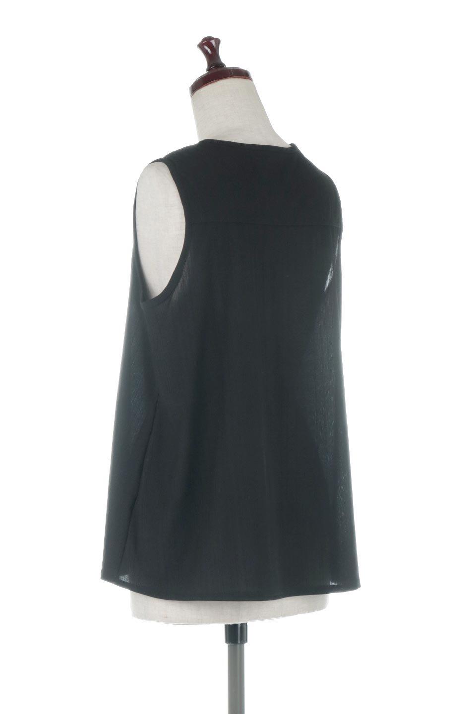 PinTuckSleevelessBlouseピンタック・ノースリーブトップス大人カジュアルに最適な海外ファッションのothers(その他インポートアイテム)のトップスやシャツ・ブラウス。リブのようなボリューム感のあるピンタックが上品なノースリーブのトップス。肩のフリルから落ちるタックデザインが立体的で、裾の動きがかわいいアイテム。/main-13