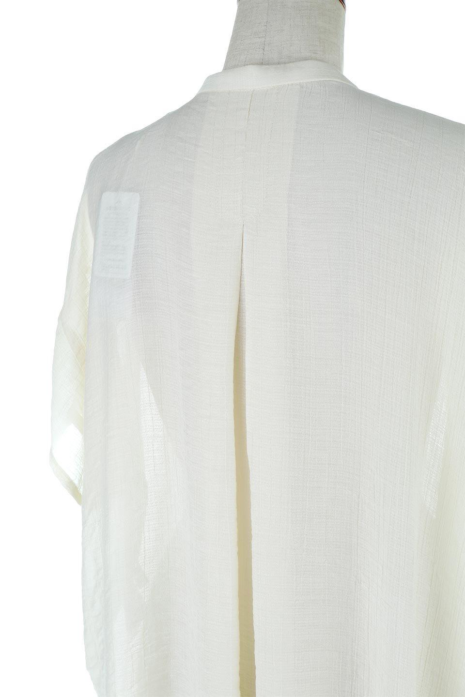PinTuckBandCollarBlouseピンタック・ガーゼブラウス大人カジュアルに最適な海外ファッションのothers(その他インポートアイテム)のトップスやシャツ・ブラウス。首元から伸びるピンタックのデザインが可愛い半袖ブラウス。首元にはボタンがひとつあり、閉めるときちっとした印象に、開くと涼し気で抜け感のある印象になります。/main-18