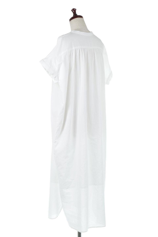 IndianCottonSmockingLongDressインド綿使用・スモッキングワンピース大人カジュアルに最適な海外ファッションのothers(その他インポートアイテム)のワンピースやミディワンピース。立体的なスモッキング刺繍が印象的なゆったりシルエットのワンピース。ナチュラルなコットンの生地なので、汗ばむ季節でも体に張り付くことなく快適です。/main-3