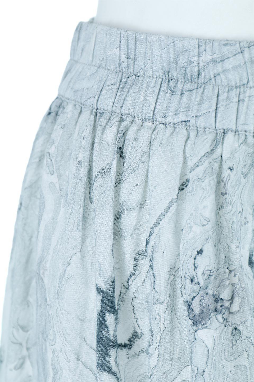 MarblePatternTieredLongSkirtマーブルパターン・ティアードスカート大人カジュアルに最適な海外ファッションのothers(その他インポートアイテム)のボトムやスカート。マーブル模様が涼し気なギャザーをたっぷりよせた3段ティアードスカート。動くたびに揺れるシルエットが涼し気な印象のスカートです。/main-7