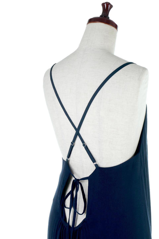 CrossedBackStrapSummerDressバックデザイン・サマードレス大人カジュアルに最適な海外ファッションのothers(その他インポートアイテム)のワンピースやマキシワンピース。背中のデザインがポイントのサマードレス。揺れるフォルム、カーブを描く曲線に、流れるようなギャザー、どこを見えても女性を美しく見せてくれるワンピース。/main-13
