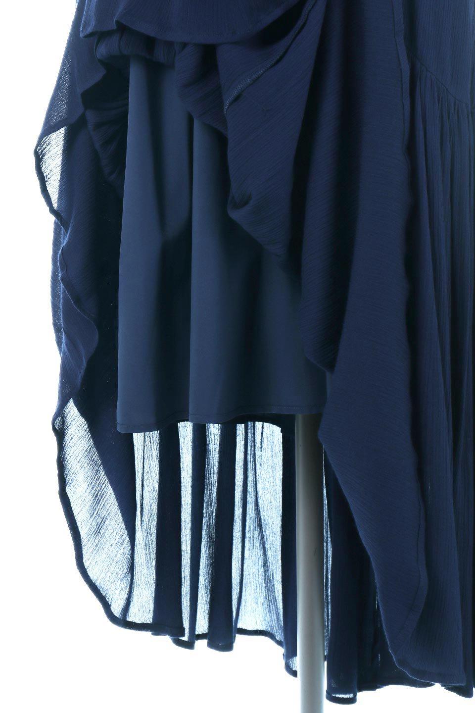 CrossedBackStrapSummerDressバックデザイン・サマードレス大人カジュアルに最適な海外ファッションのothers(その他インポートアイテム)のワンピースやマキシワンピース。背中のデザインがポイントのサマードレス。揺れるフォルム、カーブを描く曲線に、流れるようなギャザー、どこを見えても女性を美しく見せてくれるワンピース。/main-19