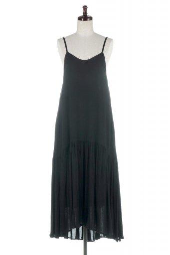 Crossed Back Strap Summer Dress バックデザイン・サマードレス / 大人カジュアルに最適な海外ファッションが得意な福島市のセレクトショップbloom