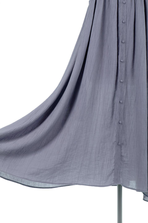 SquareNeckFrillSleeveDressスクエアネック・フリルスリーブドレス大人カジュアルに最適な海外ファッションのothers(その他インポートアイテム)のワンピースやマキシワンピース。スラリと見えるゆったりデザインのサマーワンピース。縦方向に流れる生地がスタイルを良く見せてくれ、ワッシャーのようなプリーツ風の凹凸のあるみずみずしいテクスチャーが、暑い日にもサラサラで肌離れを良く快適にしてくれるアイテム。/main-19