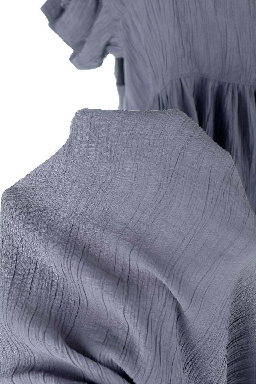 SquareNeckFrillSleeveDressスクエアネック・フリルスリーブドレス大人カジュアルに最適な海外ファッションのothers(その他インポートアイテム)のワンピースやマキシワンピース。スラリと見えるゆったりデザインのサマーワンピース。縦方向に流れる生地がスタイルを良く見せてくれ、ワッシャーのようなプリーツ風の凹凸のあるみずみずしいテクスチャーが、暑い日にもサラサラで肌離れを良く快適にしてくれるアイテム。/main-20