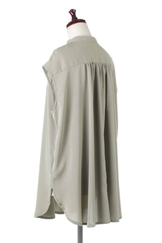 FrenchSleevePinTuckedBosomBlouseピンタック入り・ブザムブラウス大人カジュアルに最適な海外ファッションのothers(その他インポートアイテム)のトップスやシャツ・ブラウス。光沢を抑えたマットサテンを使った上品な印象のブラウス。腕を華奢に見せ、羽織にも響きにくく扱いやすいフレンチスリーブのアイテムです。/main-13