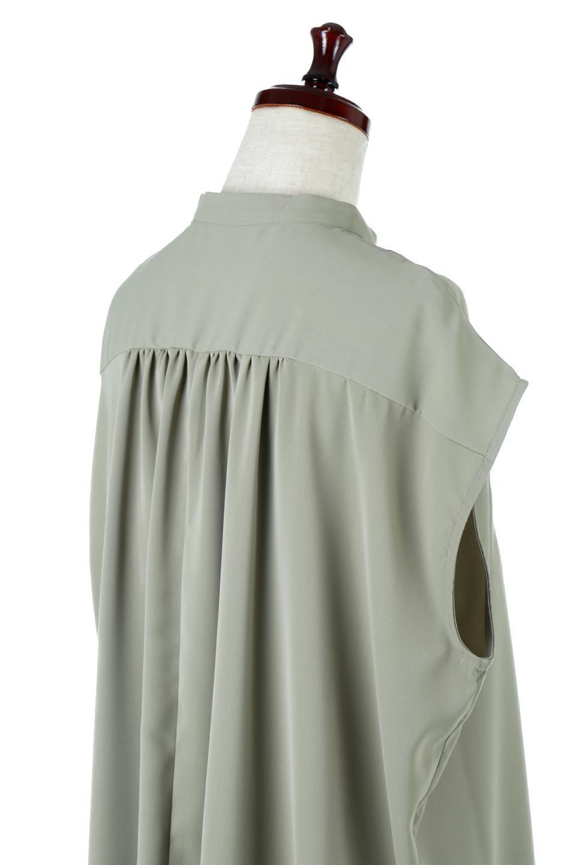FrenchSleevePinTuckedBosomBlouseピンタック入り・ブザムブラウス大人カジュアルに最適な海外ファッションのothers(その他インポートアイテム)のトップスやシャツ・ブラウス。光沢を抑えたマットサテンを使った上品な印象のブラウス。腕を華奢に見せ、羽織にも響きにくく扱いやすいフレンチスリーブのアイテムです。/main-16