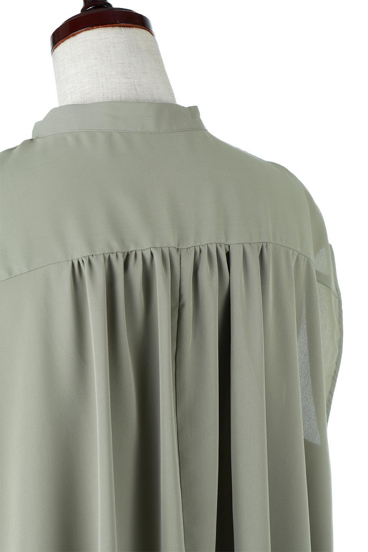 FrenchSleevePinTuckedBosomBlouseピンタック入り・ブザムブラウス大人カジュアルに最適な海外ファッションのothers(その他インポートアイテム)のトップスやシャツ・ブラウス。光沢を抑えたマットサテンを使った上品な印象のブラウス。腕を華奢に見せ、羽織にも響きにくく扱いやすいフレンチスリーブのアイテムです。/main-17