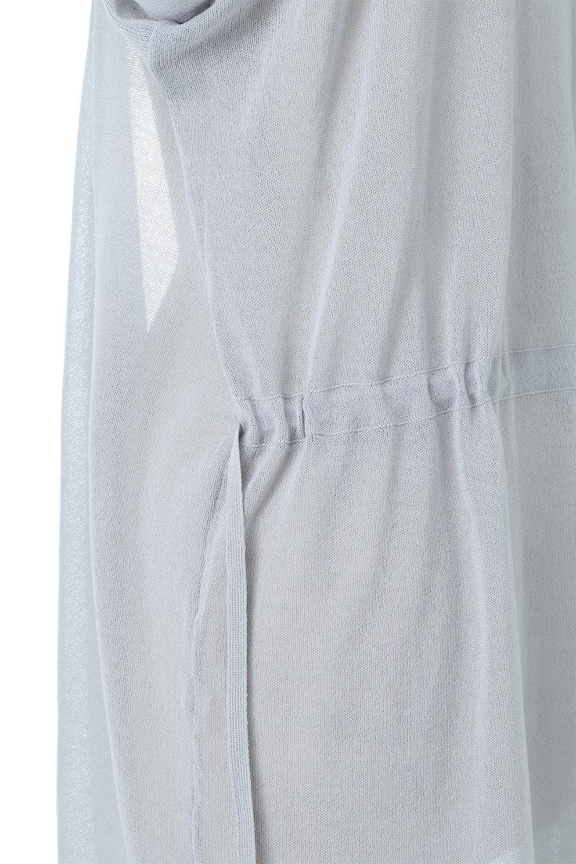 RibLineSleeveShearLongCardiganラインスリーブ・シアーカーディガン大人カジュアルに最適な海外ファッションのothers(その他インポートアイテム)のアウターやカーディガン。サラリとした触感で暑い時期にも重宝する長袖カーディガン。トレンド感のあるロング丈のデザインとバックウエストに通った紐ベルトで、後ろ姿にもメリハリがあるアイテム。/main-16