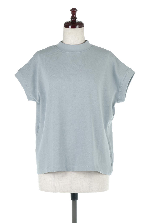 FrenchSleeveMockNeckTeeフレンチスリーブ・モックネックTシャツ大人カジュアルに最適な海外ファッションのothers(その他インポートアイテム)のトップスやTシャツ。USコットンを使用し、ゆとりを持たせたシルエットとドライタッチな肌触りのTシャツ。着心地の良さはもちろん、二の腕がきれいに見えるフレンチスリーブとしっかりした生地感で程よく体型カバーしてくれるアイテム。/main-15