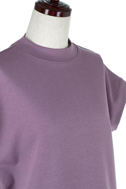 FrenchSleeveMockNeckTeeフレンチスリーブ・モックネックTシャツ大人カジュアルに最適な海外ファッションのothers(その他インポートアイテム)のトップスやTシャツ。USコットンを使用し、ゆとりを持たせたシルエットとドライタッチな肌触りのTシャツ。着心地の良さはもちろん、二の腕がきれいに見えるフレンチスリーブとしっかりした生地感で程よく体型カバーしてくれるアイテム。/main-25