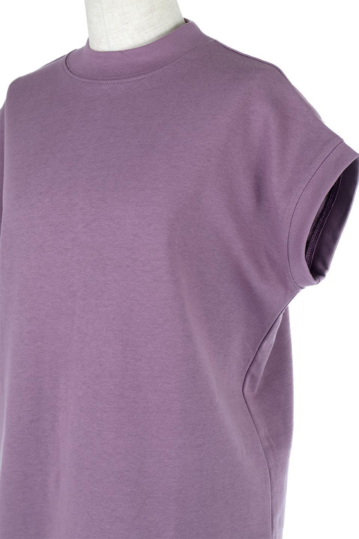 FrenchSleeveMockNeckTeeフレンチスリーブ・モックネックTシャツ大人カジュアルに最適な海外ファッションのothers(その他インポートアイテム)のトップスやTシャツ。USコットンを使用し、ゆとりを持たせたシルエットとドライタッチな肌触りのTシャツ。着心地の良さはもちろん、二の腕がきれいに見えるフレンチスリーブとしっかりした生地感で程よく体型カバーしてくれるアイテム。/main-26
