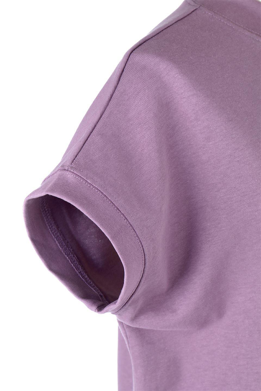 FrenchSleeveMockNeckTeeフレンチスリーブ・モックネックTシャツ大人カジュアルに最適な海外ファッションのothers(その他インポートアイテム)のトップスやTシャツ。USコットンを使用し、ゆとりを持たせたシルエットとドライタッチな肌触りのTシャツ。着心地の良さはもちろん、二の腕がきれいに見えるフレンチスリーブとしっかりした生地感で程よく体型カバーしてくれるアイテム。/main-28