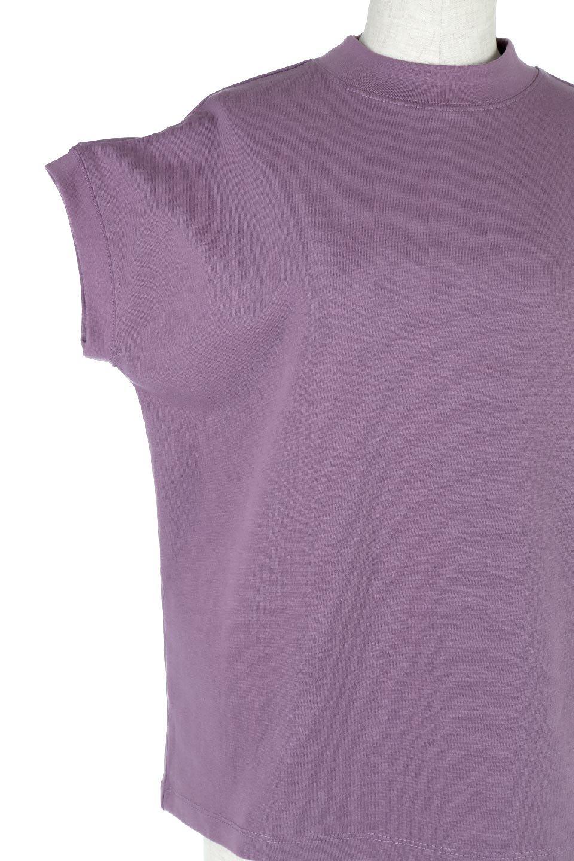 FrenchSleeveMockNeckTeeフレンチスリーブ・モックネックTシャツ大人カジュアルに最適な海外ファッションのothers(その他インポートアイテム)のトップスやTシャツ。USコットンを使用し、ゆとりを持たせたシルエットとドライタッチな肌触りのTシャツ。着心地の良さはもちろん、二の腕がきれいに見えるフレンチスリーブとしっかりした生地感で程よく体型カバーしてくれるアイテム。/main-29