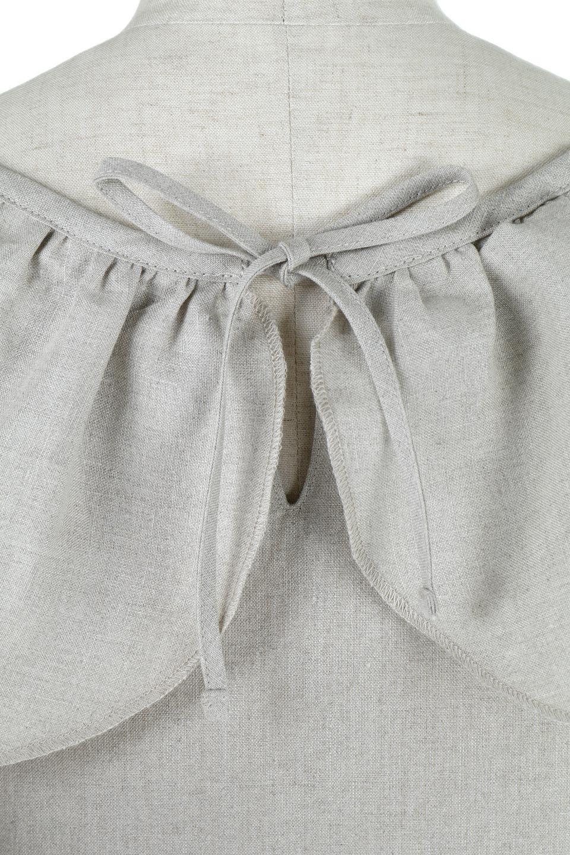 WashableLinenFrilledBlouseウォッシャブルリネン・フリルブラウス大人カジュアルに最適な海外ファッションのothers(その他インポートアイテム)のトップスやシャツ・ブラウス。首回りをぐるりと囲むフリルデザインが目を惹くナチュラルな印象のブラウス。デコルテラインが綺麗に見える開き具合で、ゆったりとしたシルエット。/main-13