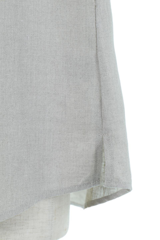 WashableLinenFrilledBlouseウォッシャブルリネン・フリルブラウス大人カジュアルに最適な海外ファッションのothers(その他インポートアイテム)のトップスやシャツ・ブラウス。首回りをぐるりと囲むフリルデザインが目を惹くナチュラルな印象のブラウス。デコルテラインが綺麗に見える開き具合で、ゆったりとしたシルエット。/main-15