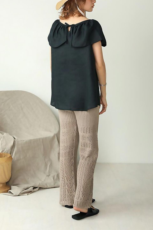 WashableLinenFrilledBlouseウォッシャブルリネン・フリルブラウス大人カジュアルに最適な海外ファッションのothers(その他インポートアイテム)のトップスやシャツ・ブラウス。首回りをぐるりと囲むフリルデザインが目を惹くナチュラルな印象のブラウス。デコルテラインが綺麗に見える開き具合で、ゆったりとしたシルエット。/main-21